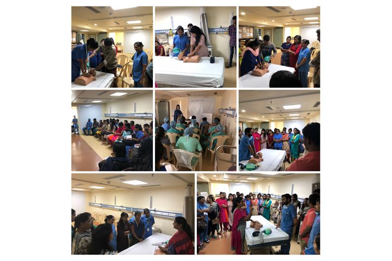 Events: BLS & ACLS In-house training programme at Gleneagles Global Hospital, Lakdikapul | Event Image | Gleneagles Global Hospitals, Lakdi Ka Pul, Hyderabad