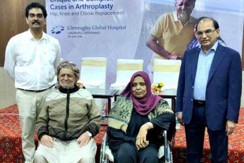Events: Experts perform complex life changing Joint Surgeries | Event Image | Gleneagles Global Hospitals, Lakdi Ka Pul, Hyderabad